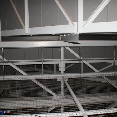 Lightweight Aluminium Rigging Bridge