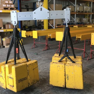 2-Point 1 Tonne Aluminium Lifting Frames for Car Manufacturer