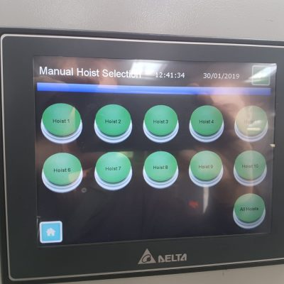 Control Panel of feeding system at Blackpool Zoo
