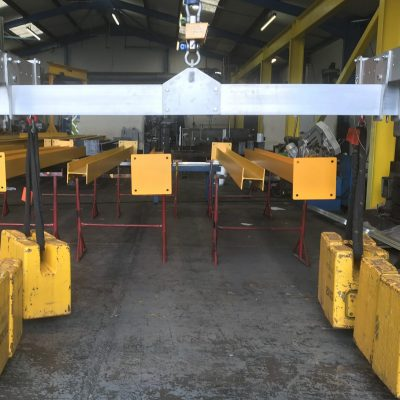 4-Point 1 Tonne Aluminium Lifting Frames for Car Manufacturer