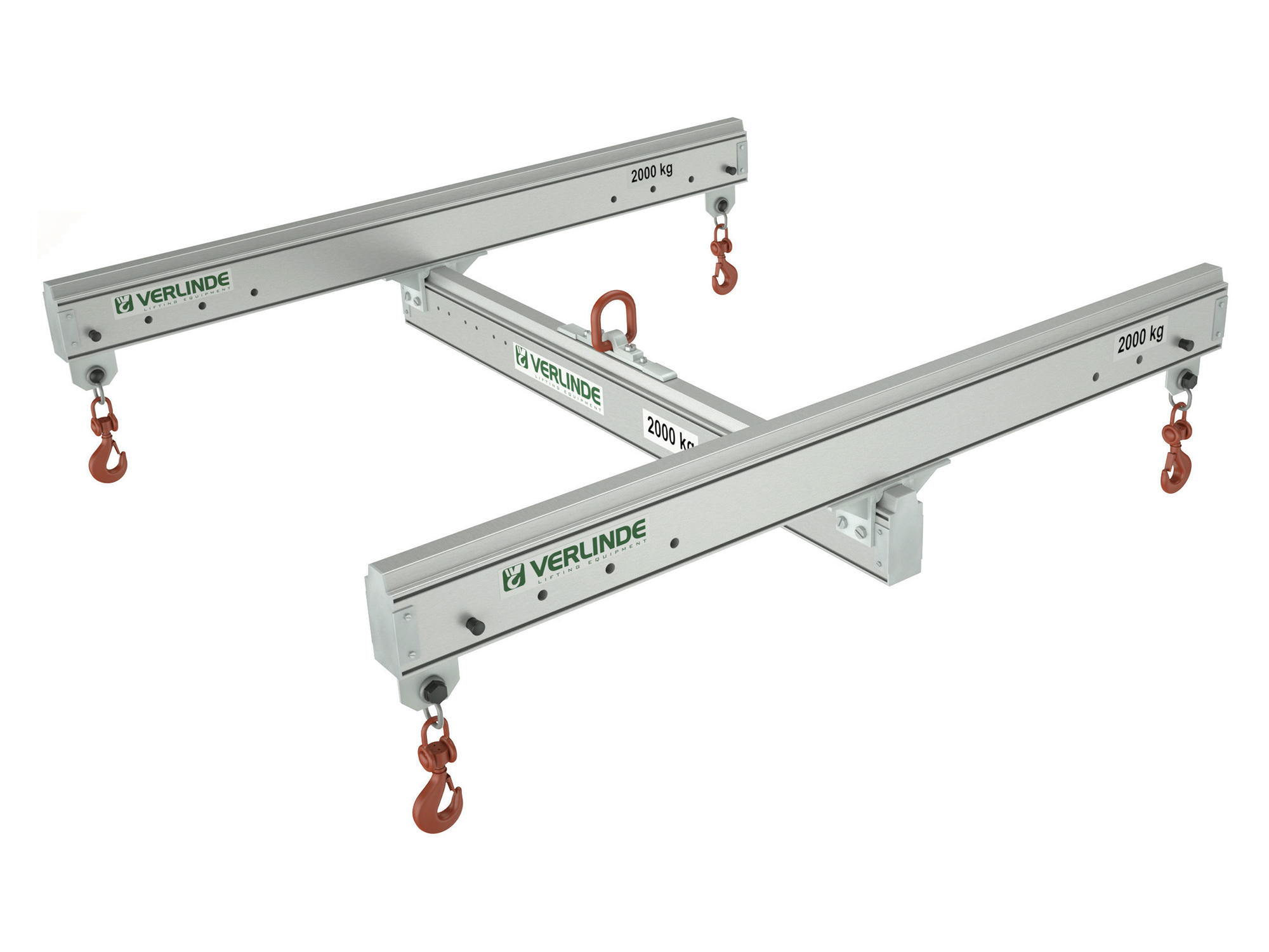 Aluminium Four Point Lifting Frame with Adjustable Drop Centres