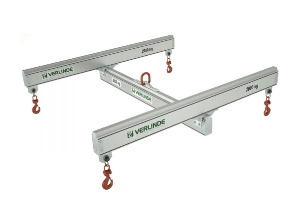 Aluminium Four Point Lifting Frame with Fixed Drop Centres