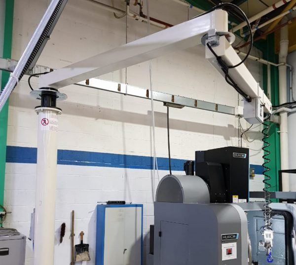 Pneumatic Rope Balancer for Manufacturing Operation
