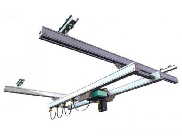 Cleanroom Monorail-Lightweight Crane System