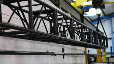 Truss Mounted Integrated Lighting Bar And Winch System