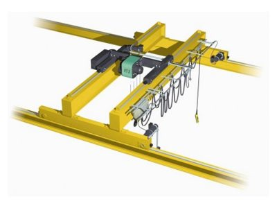 Double Girder Overhead Crane (Top Running with Wire Rope Hoist)