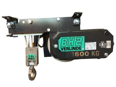 EUROLIFT BH Electric Belt Hoist with Fixed Suspenson 1