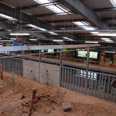 Elephant enclosure at Blackpool Zoo