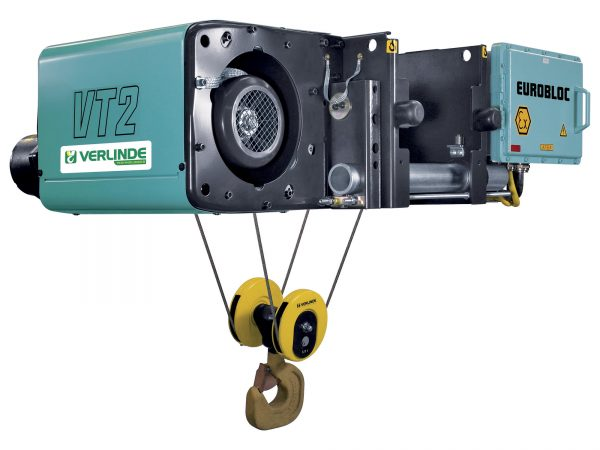 Eurobloc VT Electric Sparkproof Wire Rope Hoist ATEX