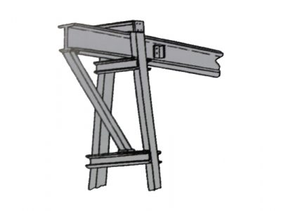 Mobile Gantry External Brace