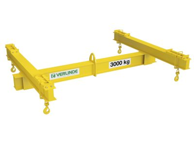 Four Point Lifting Frame with Adjustable Drop Centres Steel