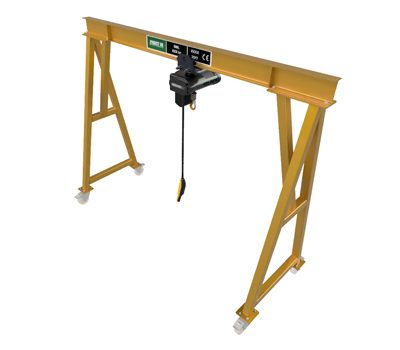 HUKSG1 Bespoke Steel Portable Gantry 1