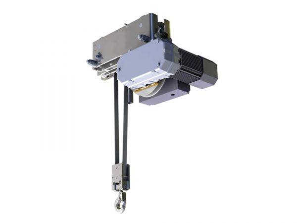 HUKSP1 Electric Belt Hoist with Monorail Trolley for Clean Room
