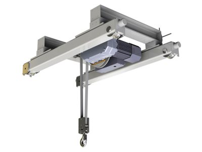 HUKSP1 Electric Belt Hoist, Double Girder for Clean Room operations including food industry and pharmaceutical