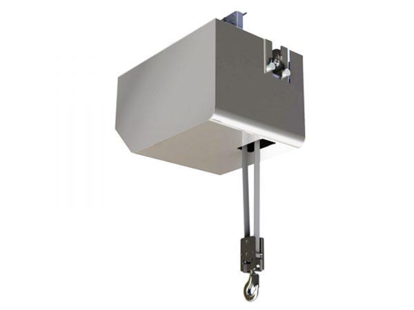 HUKSP2 Electric Belt Hoist, Monorail Trolley (Clean Room)