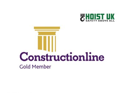 Hoist UK are Constructionline Level 3 Gold Members