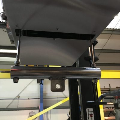 Bespoke Cleanroom Electric Wire Rope Hoist with Load Bar