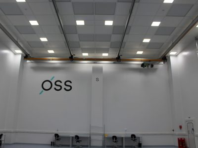 Oxford Space Systems Overhead Cleanroom Crane System