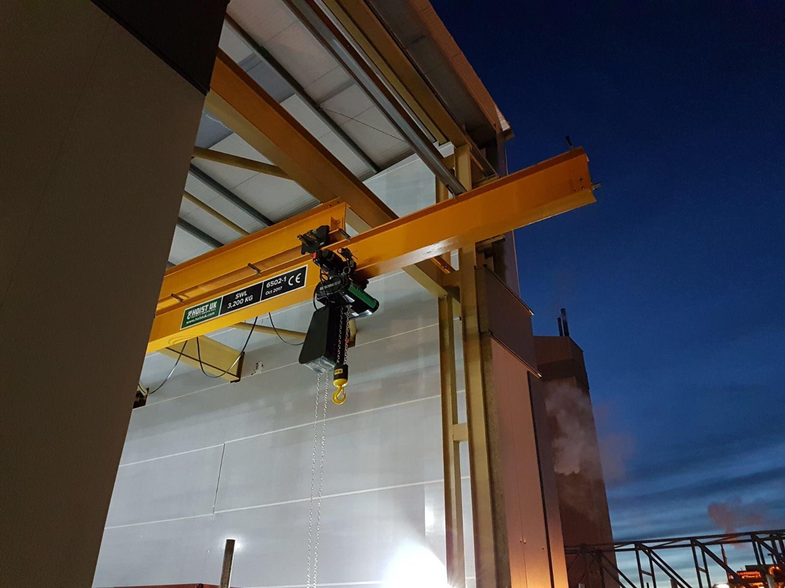 Runout Cranes - Hoist UK