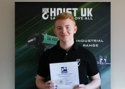 James Jordan LEEA Exam Success