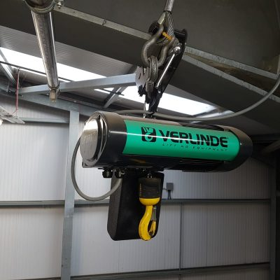 Verlinde Hoist at Blackpool Zoo