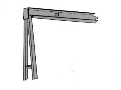 Rigid or Splice Braced Gantry Icon