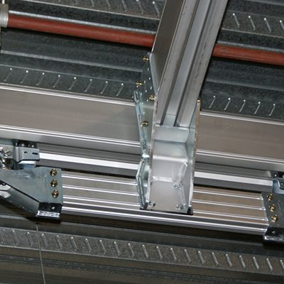 Royal Shakespeare Company's Scenic Workshops Aluminium Monorail Track with Chain Hoists 3