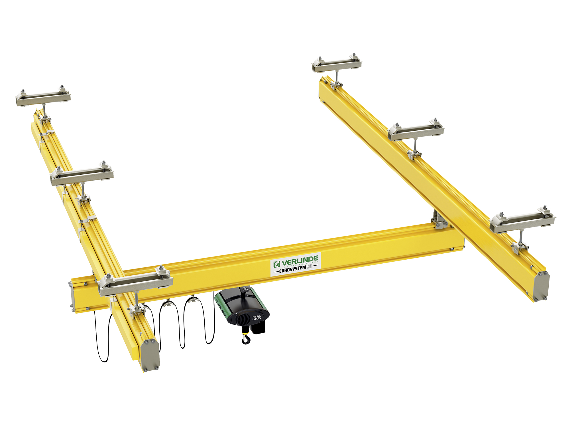 Hoist Uk Steel Lightweight Single Girder Crane System