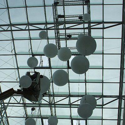 Truss Mother Grid to support modern lighting installation 3