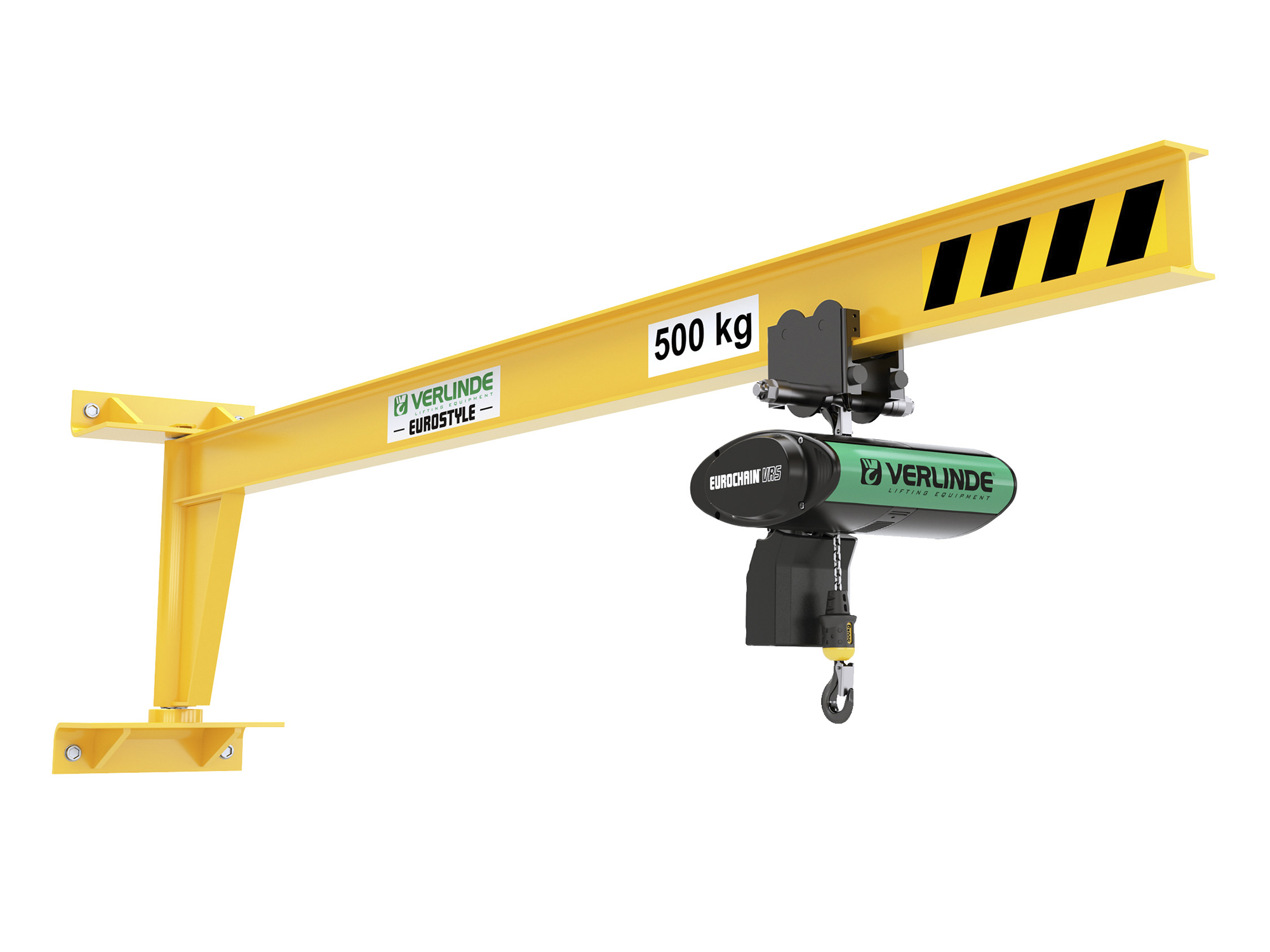 Wall Mounted Underbraced Jib Crane from Verlinde