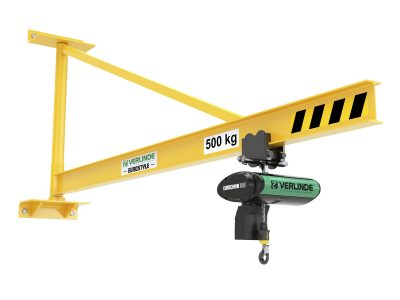 VAT Wall Mounted Overbraced Jib Crane (Profile Beam)