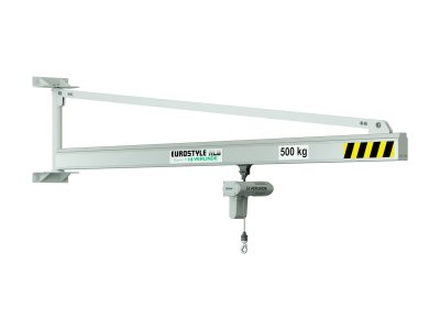 VATALSP1 Wall Mounted Aluminium Profile Jib Crane (Clean Room)