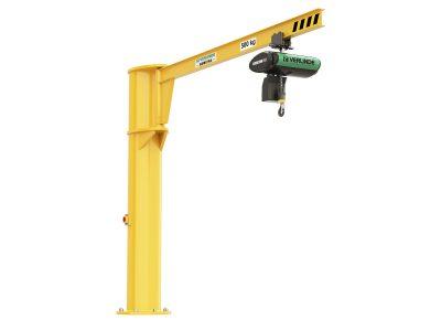 VFI Free Standing/Floor Mounted Underbraced Jib Crane (Profile Beam)