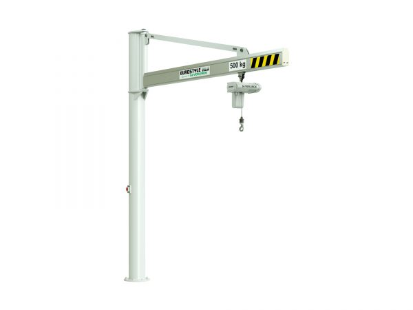 VFTALSP1 Free Standing Overbraced Aluminium Profile Jib Crane (Clean Room)