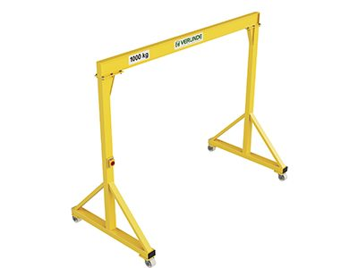 VGI Steel Portable/Mobile Lifting Gantry Crane