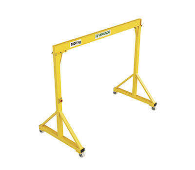 Vgi Steel Portable Gantry Crane A Frame Design For Loads Of Up To 5 000k