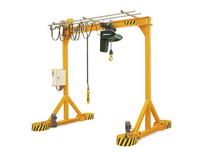 VGIM Steel Motorised/Powered Workshop Lifting Gantry Crane