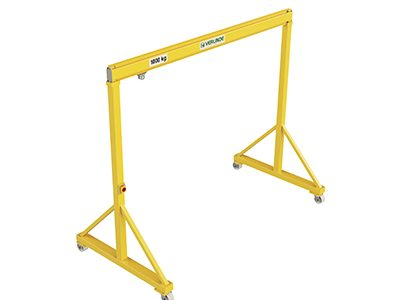 VGPS Steel Portable/Mobile Lifting Gantry Crane