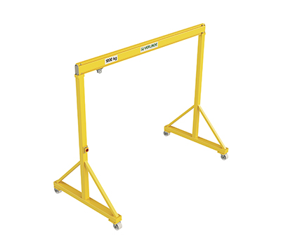 VGPS Steel Portable/Mobile Lifting Gantry Crane