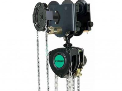 VHR Manual Chain Hoist with Geared Travel Trolley