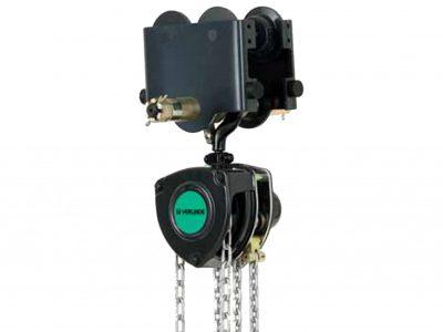 VHR Manual Chain Hoist with Push Trolley