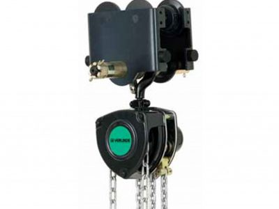 VHR Manual Chain Hoist with Push Trolley