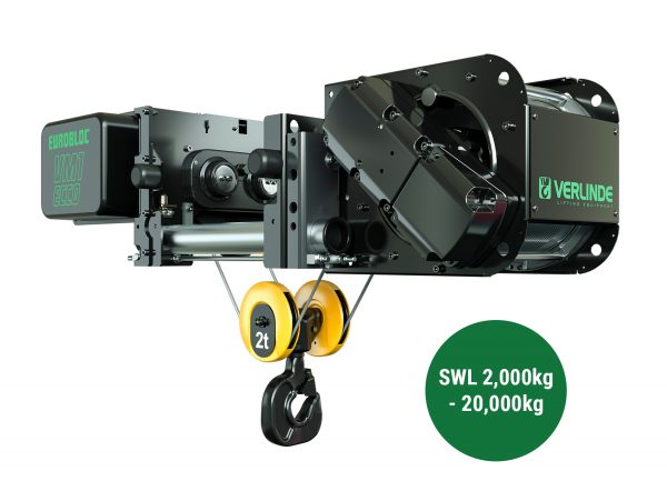 VM Essentials Electric Wire Rope Hoists (for use with crane kits only)
