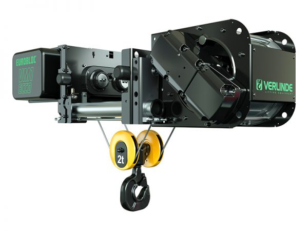 VM Essentials Electric Wire Rope Hoist Low Headroom
