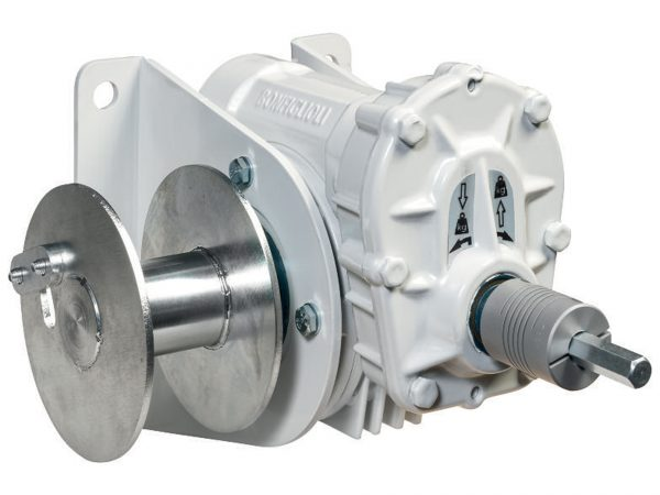 WA Battery Driven Worm Gear Winch