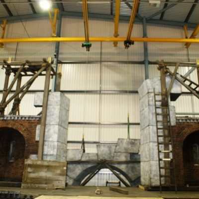 The Royal Opera House Overhead Crane System